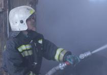В Смоленской области загорелся дом на Первомайской