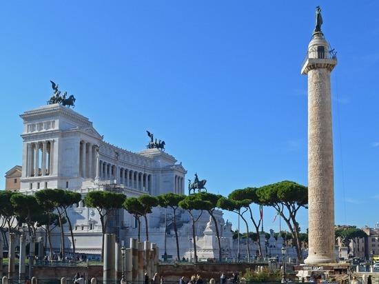 В Риме сотрудники сферы шоу-бизнеса устроили акцию протеста