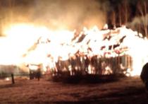 В Кировской области огонь уничтожил школу