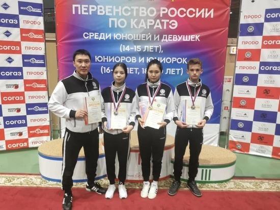 Юные каратисты Калмыкии - призеры Первенства России