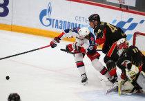 Омский «Авангард» в Москве после первого периода выигрывает в финале у ЦСКА