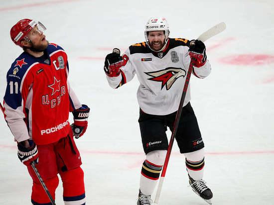 Московские армейцы не смогли подтвердить статус фаворита плей-офф КХЛ