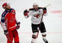 Омский «Авангард» обыграл ЦСКА и четвёртый гол забил в пустые ворота