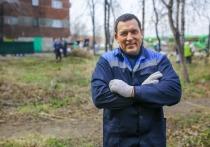 Мэр Новокузнецка Кузнецов вышел на субботник вместе с горожанами