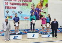 Теннисистка их Хакасии вошла в число призёров первенства России