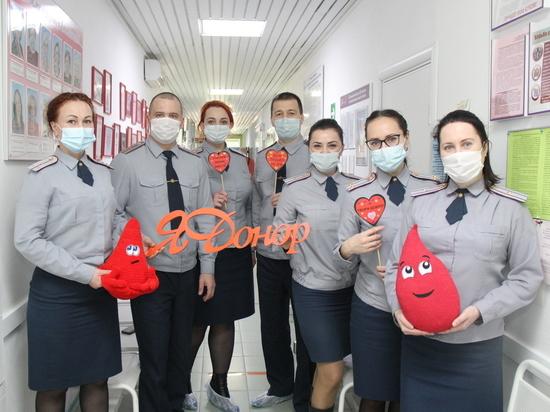 Сотрудники сургутской УФСИН приняли участие в Дне донора
