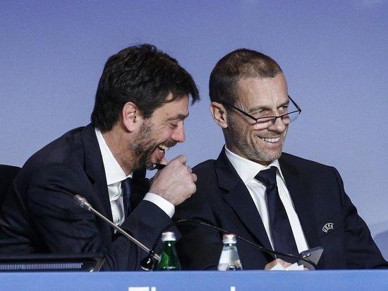 """Президент УЕФА: """"Я не знал, что мы пригрели змей на груди, теперь знаю"""""""