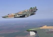 Самолеты-штурмовики Су-25СМ3 перебазированы из Ставрополья на оперативные аэродромы Крыма для проверки уровня боевой подготовки