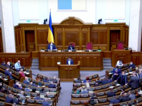 Фракция президента Украины в Верховной Раде «Слуга народа» потребовала расторгнуть дипломатические отношения с Россией