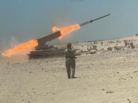 """Саудовская Аравия применила тяжёлую огнеметную систему ТОС-1А """"Солнцепек"""""""