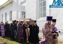 В Костромской области похоронили погибшего игумена монастыря