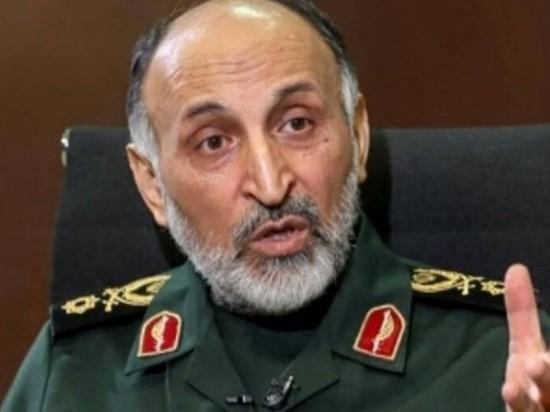 Один из центральных генералов КСИР скончался от сердечного приступа