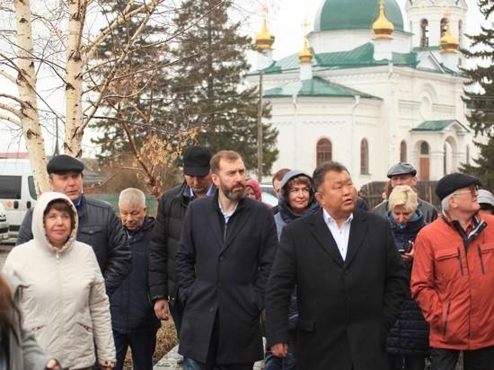 Кимильтей: депутаты ЗС проинспектировали точку развития в Зиминском районе