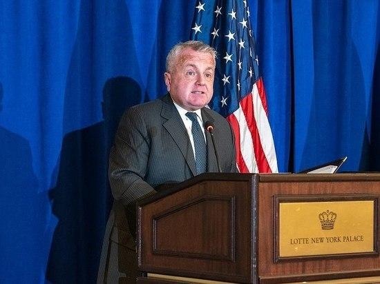 Посол США в России Джон Салливан отправится в Вашингтон, после чего «в ближайшие недели» вернется обратно в Москву
