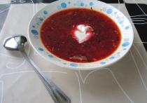 Google включил борщ в список российских блюд, вошедших в историю