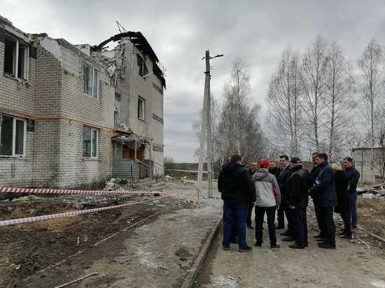 Пострадавший от взрыва дом в Маргушах придется снести до фундамента