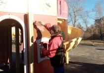 В столице Карелии приводят в порядок детские площадки