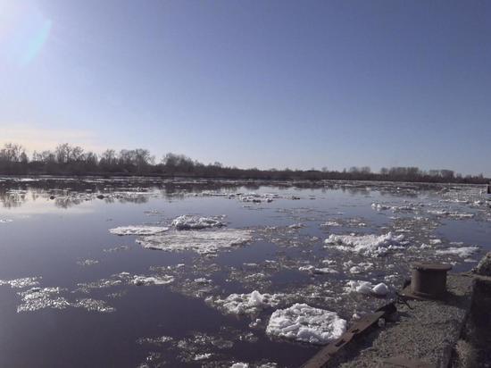 Ледоход на Северной Двине подошёл к Архангельску