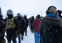 В МВД призвали не участвовать в акция в поддержку Навального