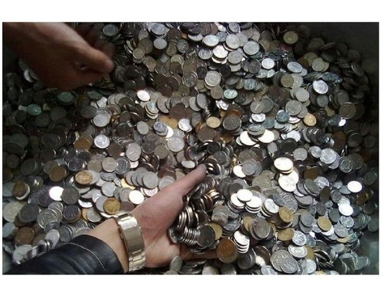 Центробанк России готовит проект по сбору монет у россиян