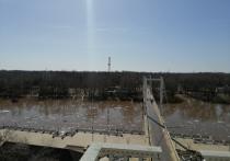В Оренбурге пешеходный мост через Урал отремонтируют почти за четыре миллиона
