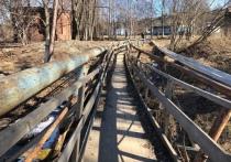 По мосту, которым ужасались жители Карелии, ограничили движение