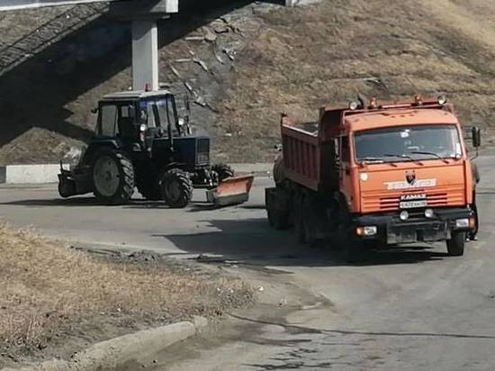 2,5 километра дорог будет отремонтировано в 2021 году в микрорайоне Солнечном в Иркутске