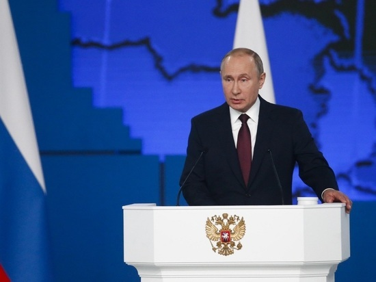 Послание Путина покажут на уличных экранах