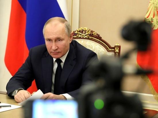 России нужен собственный мощный щит в сфере эпидемиологической безопасности, заявил президент России Владимир Путин во время Послания Федеральному собранию