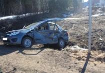 В Кировской области столкнулись две «Лады»: погиб водитель