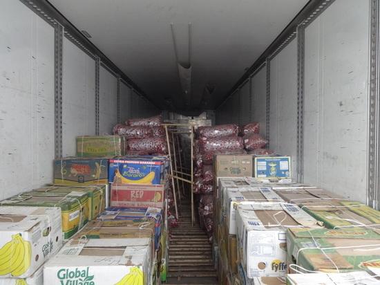 В Оренбургскую область не попала 191 тонна продукции из ближнего зарубежья