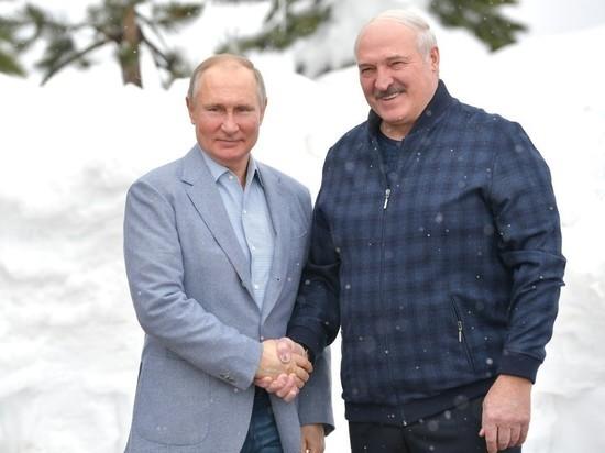 Лукашенко летит в Москву на переговоры с Путиным