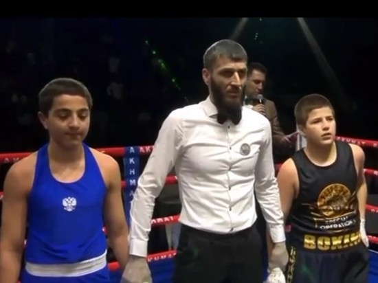 В Чечне объяснили странную победу сына Кадырова на ринге