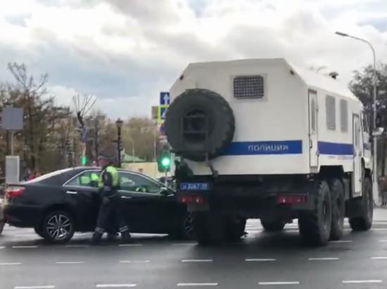 Режиссер, попавший в ДТП с автозаком, рассказал об аварии