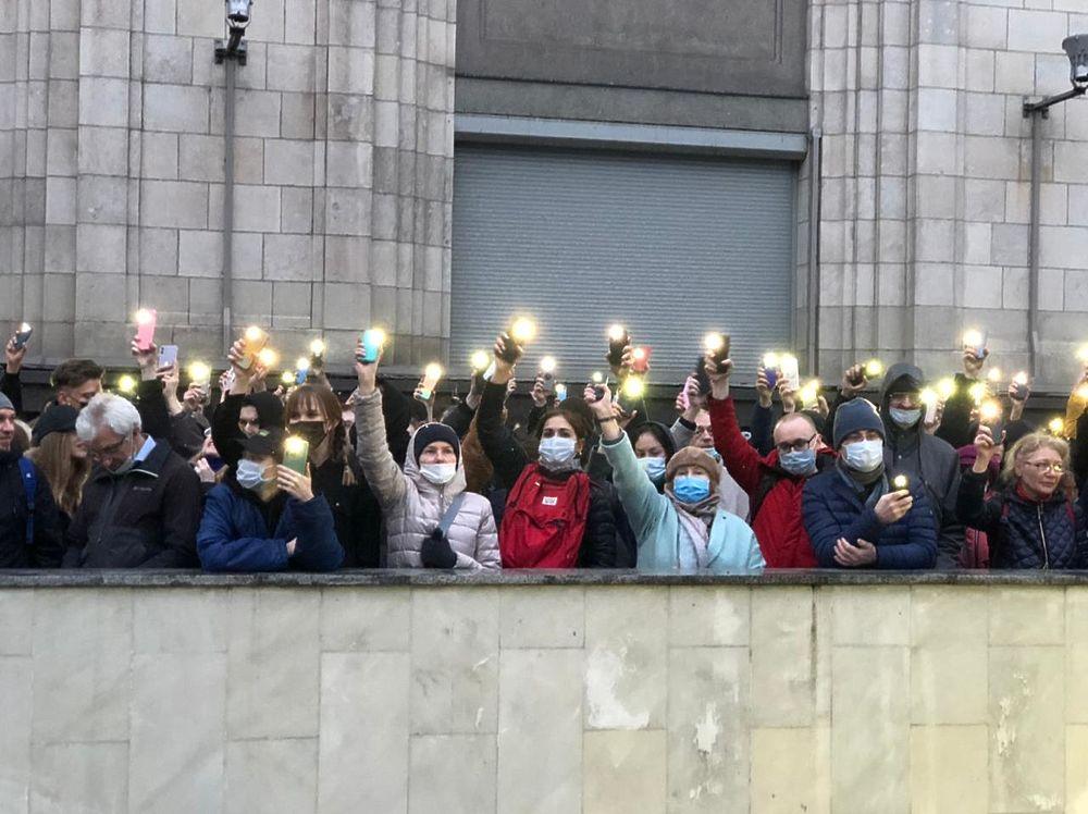 Лица митинга за Навального: кадры из центра Москвы