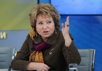 Матвиенко назвала задачи Совфеда по итогам послания президента