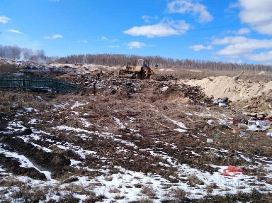 Горевшую несколько дней кузбасскую свалку пообещали ликвидировать до конца апреля