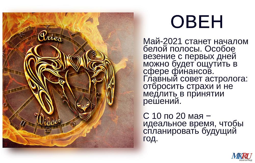 «Месяц сюрпризов»: гороскоп от Павла Глобы на май 2021 года