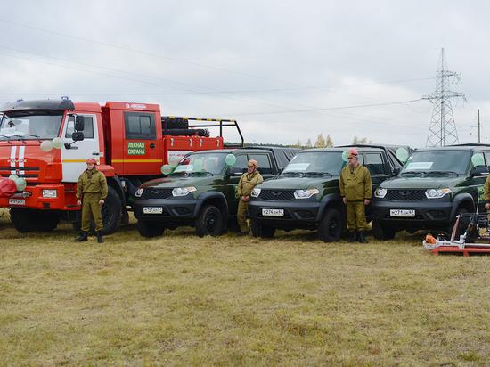 Минприроды направило в Смоленскую область деньги на технику для тушения лесных пожаров