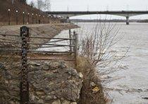 В Кирове уровень воды в Вятке поднялся на три метра
