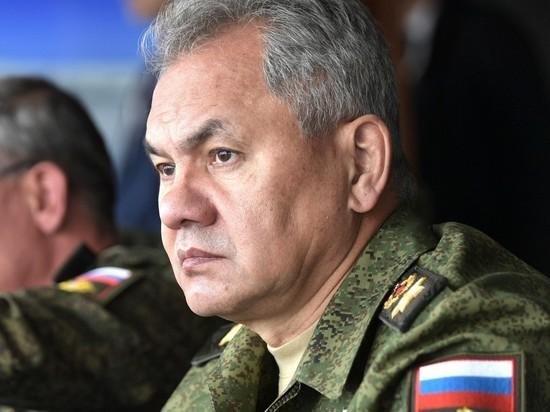 Шойгу завершил военные маневры у границ Украины
