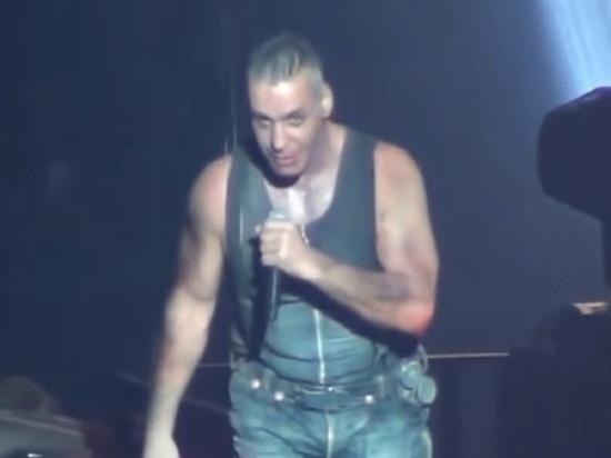 Лидер Rammstein спел по-русски советский хит