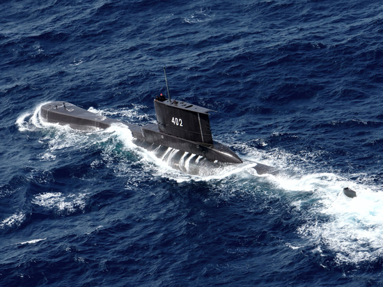 В районе Бали пропала военная сумбарина с 53 моряками
