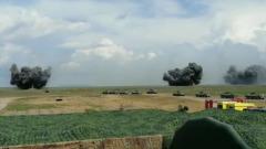 Армия, авиация и флот показали в Крыму всю мощь: видео