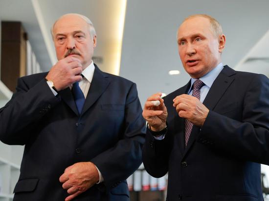 Спрогнозирован ход встречи Путина и Лукашенко