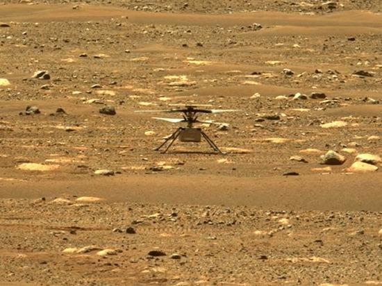 Дрон NASA совершил второй успешный полет на Марсе