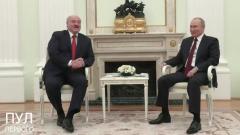Путин ответил на приглашение Зеленского: кадры встречи с Лукашенко