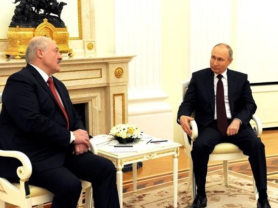 Переговоры Лукашенко и Путина продлились почти четыре часа