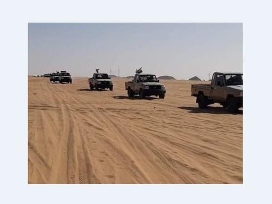 Ливийская национальная армия стянула военных к Чаду