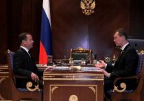 Заместитель председателя Совета Безопасности встретился с Михаилом Дегтяревым
